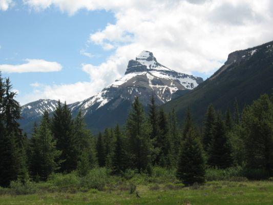 Onderweg naar Banff